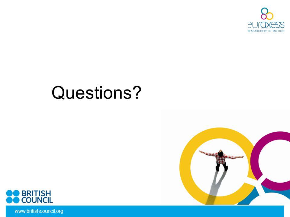 Questions www.britishcouncil.org