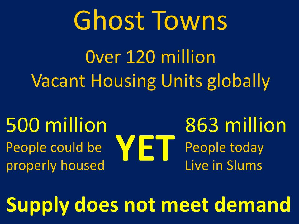 Vacant Housing Units globally