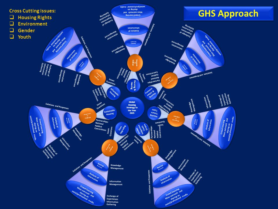 GHS Approach Cross Cutting issues: Housing Rights Environment Gender