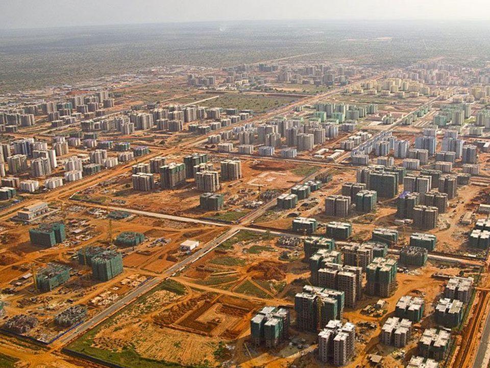 New City of Kilamba 20,000 vacant apartments