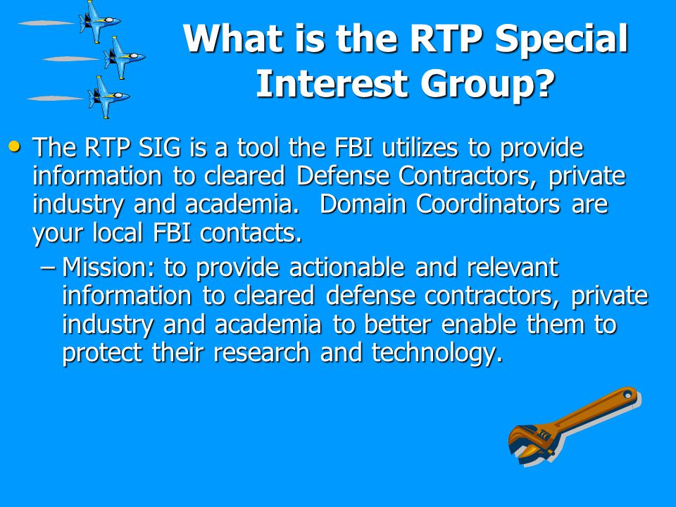 What is the RTP Special Interest Group