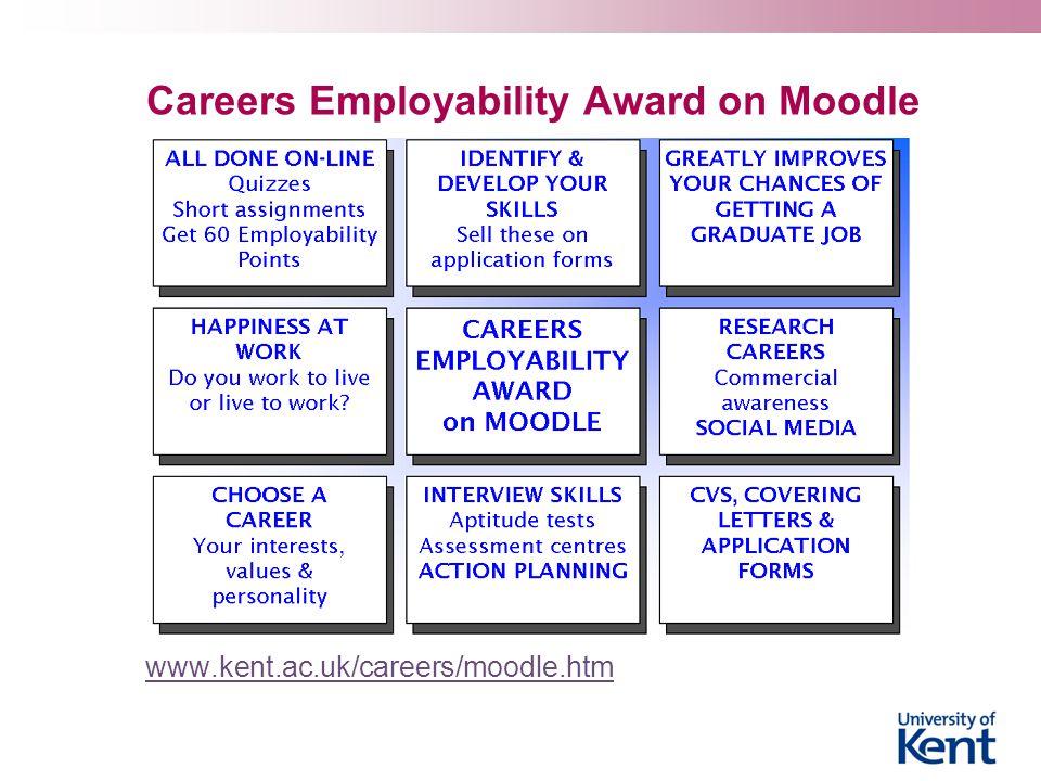 Careers Employability Award on Moodle