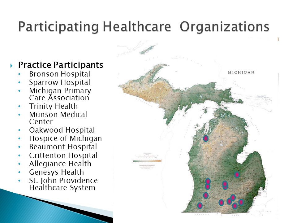 Participating Healthcare Organizations