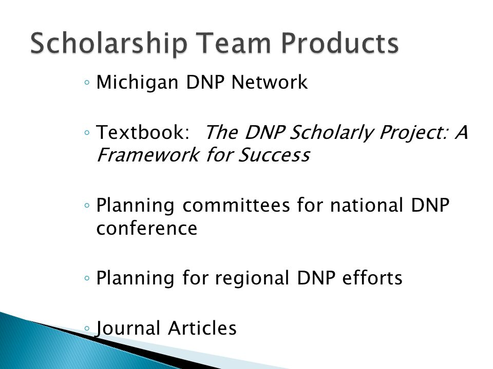 Scholarship Team Products