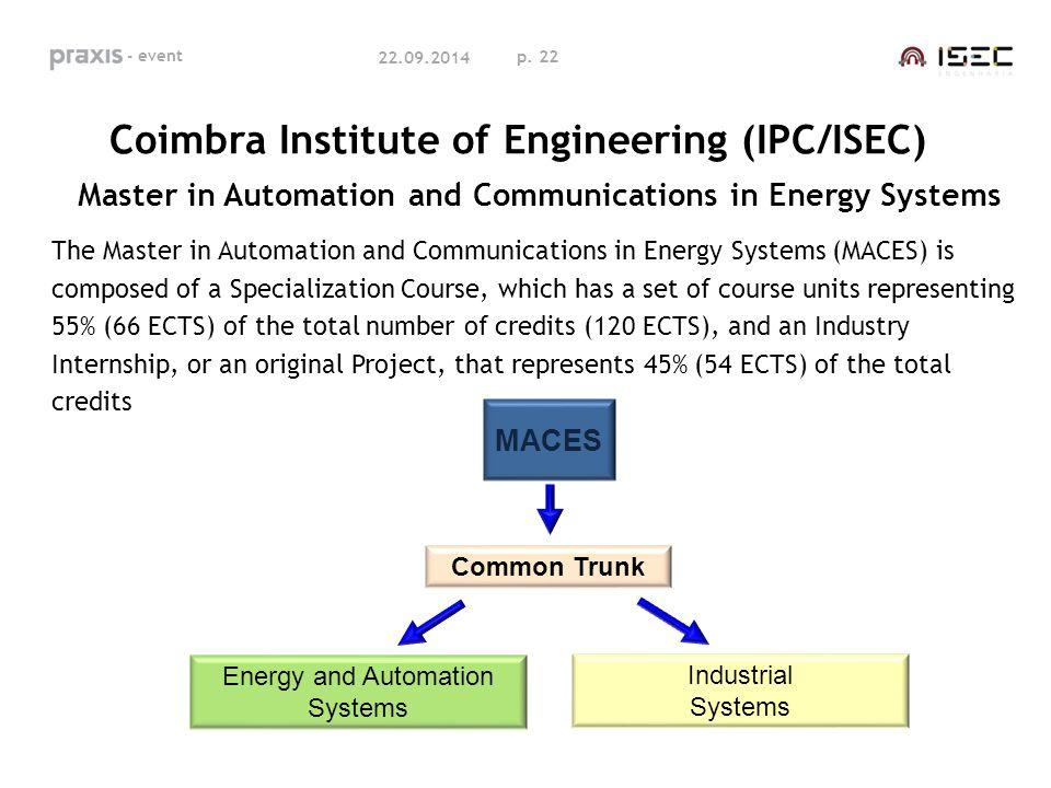 Coimbra Institute of Engineering (IPC/ISEC)