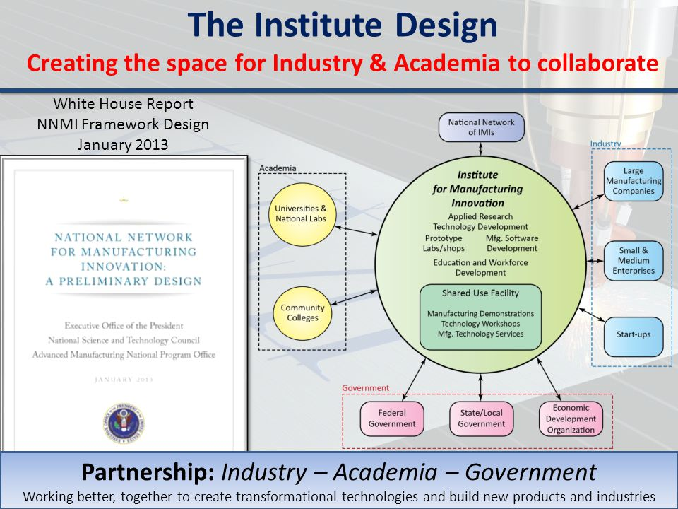 Creating the space for Industry & Academia to collaborate