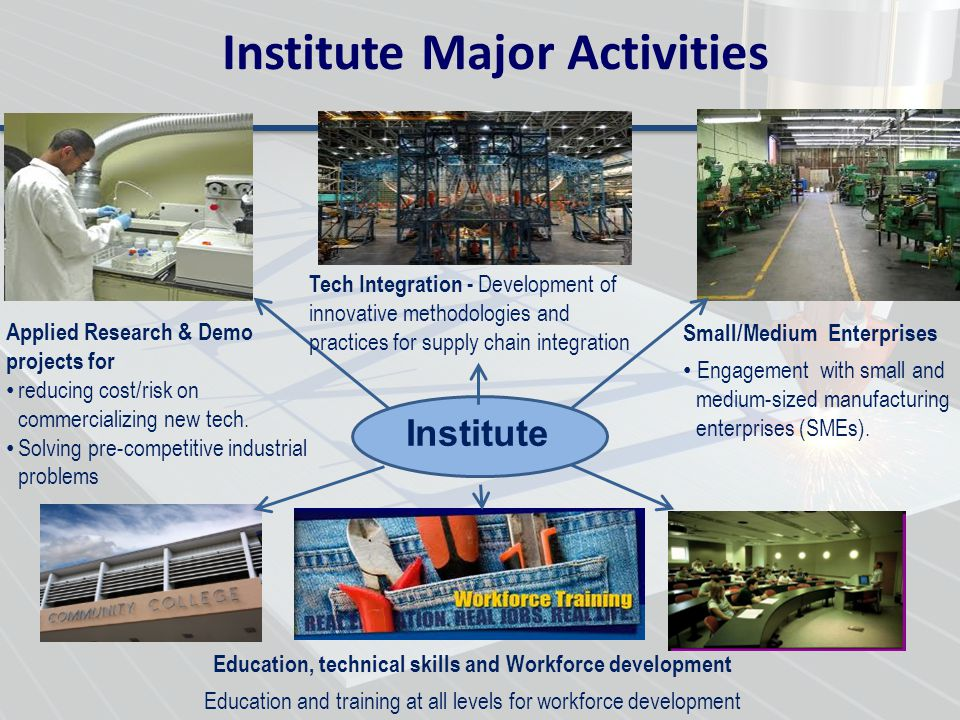 Institute Major Activities
