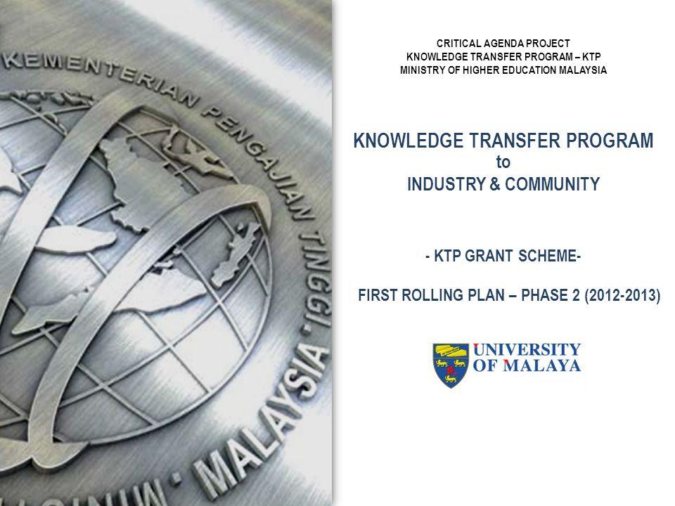 KNOWLEDGE TRANSFER PROGRAM