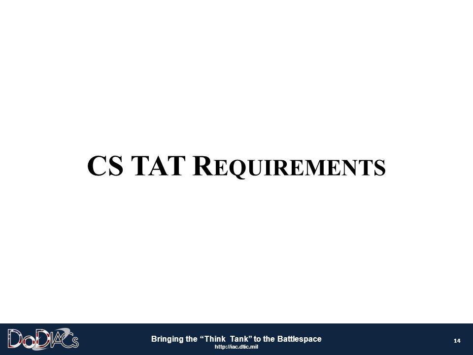 CS TAT Requirements 14