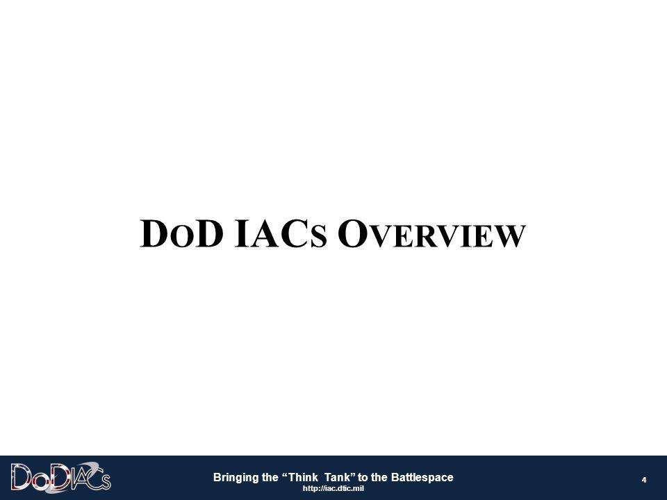 DoD IACs Overview 4