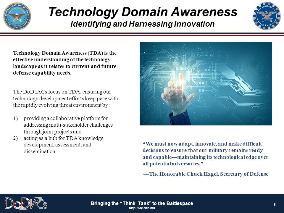 Technology Domain Awareness