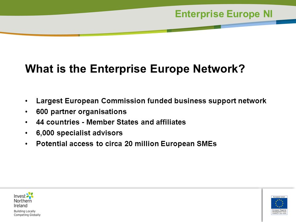 What is the Enterprise Europe Network