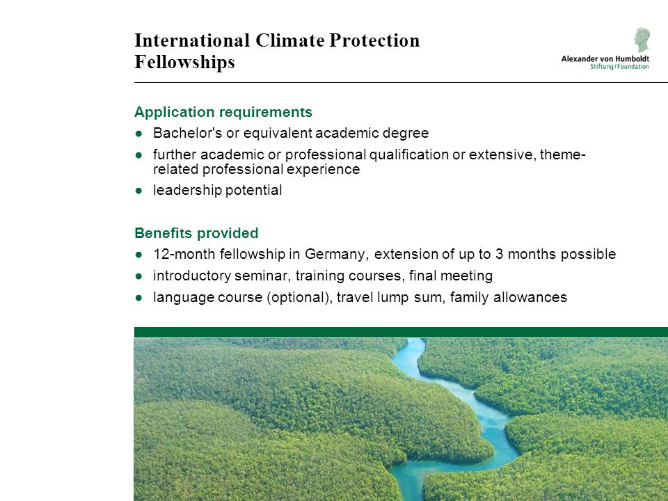 International Climate Protection Fellowships