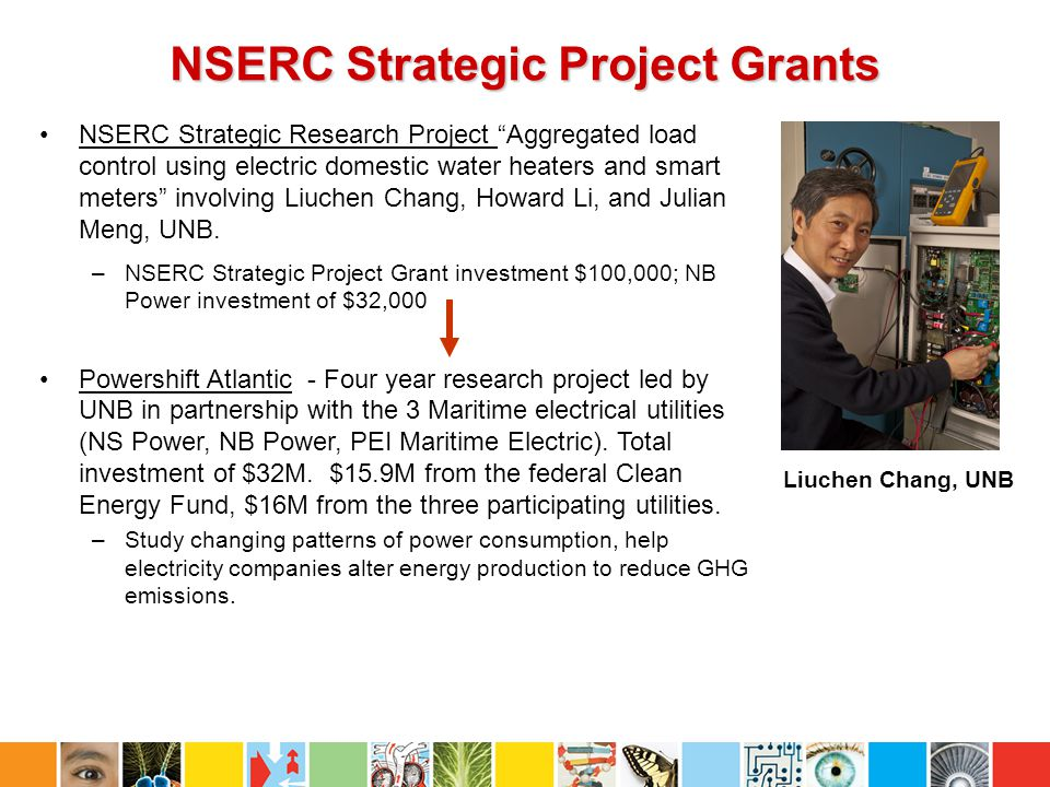NSERC Strategic Project Grants