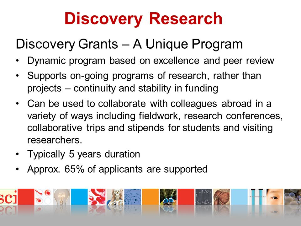 Discovery Research Discovery Grants – A Unique Program