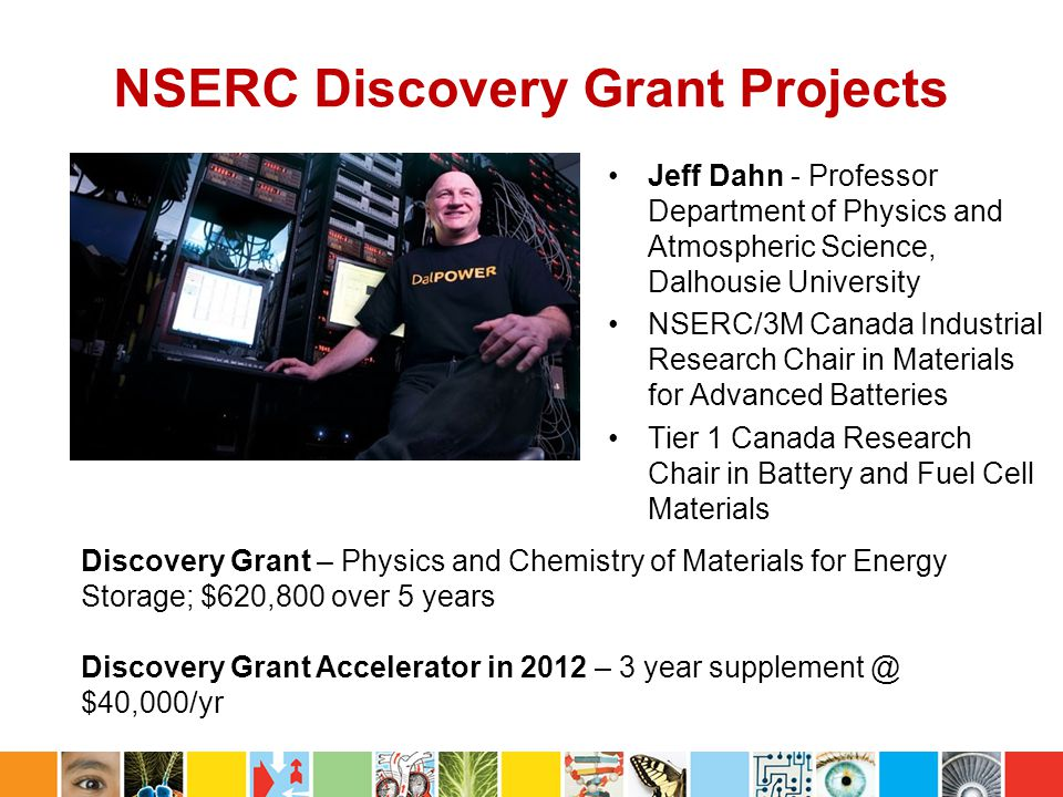 NSERC Discovery Grant Projects