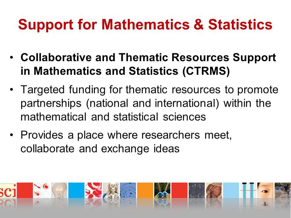 Support for Mathematics & Statistics
