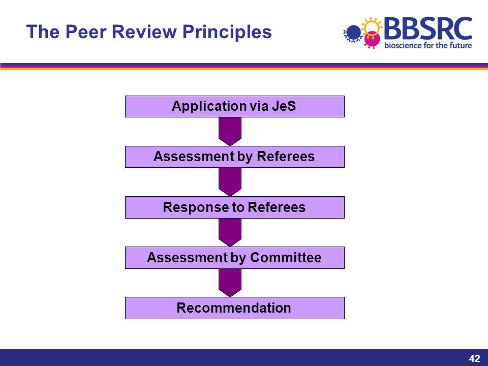 The Peer Review Principles
