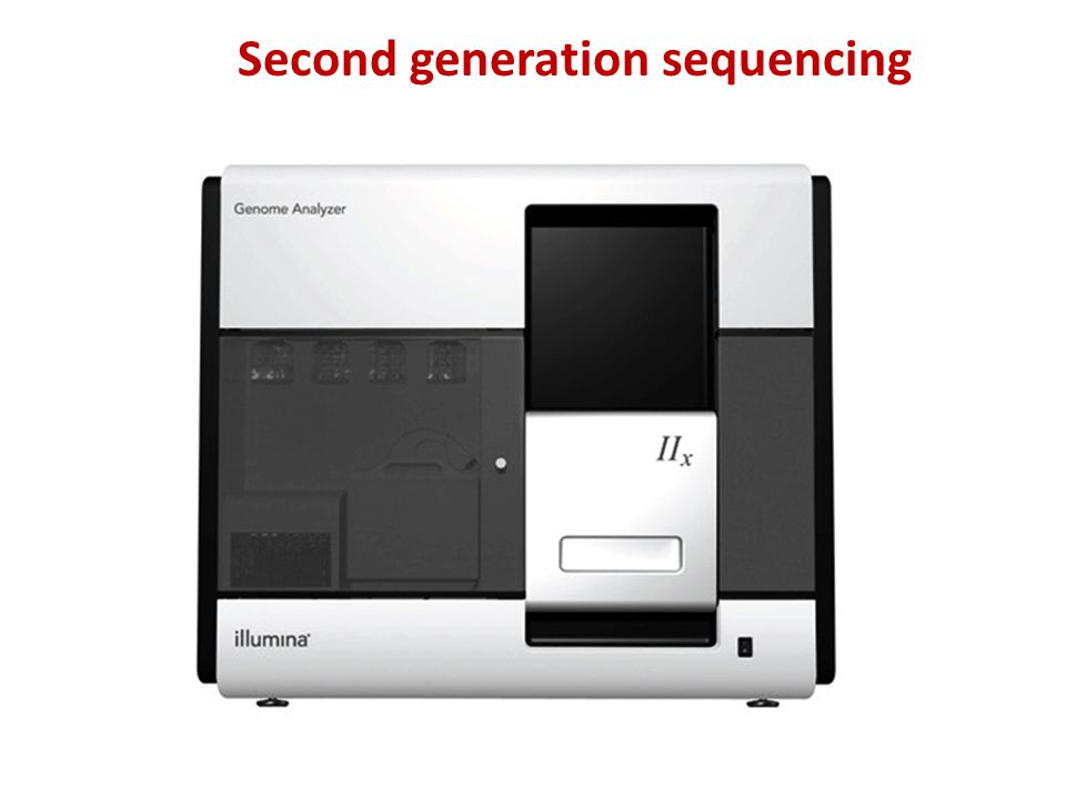 Second generation sequencing