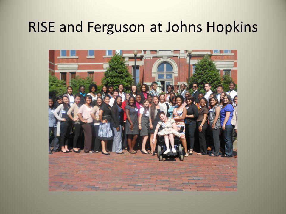 RISE and Ferguson at Johns Hopkins