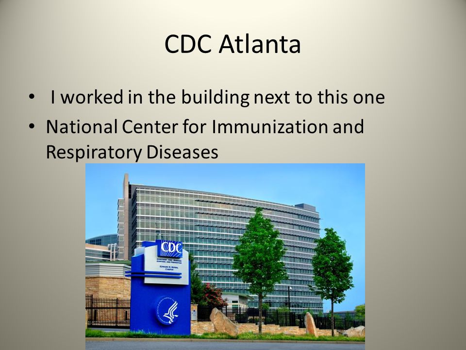 CDC Atlanta I worked in the building next to this one