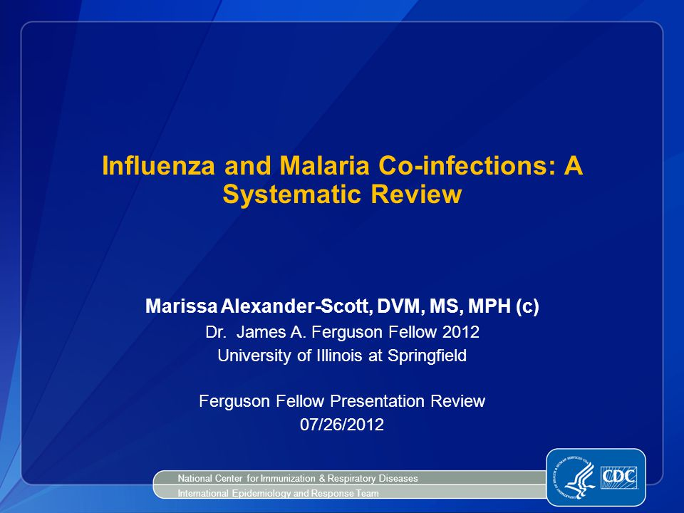 Influenza and Malaria Co-infections: A Systematic Review
