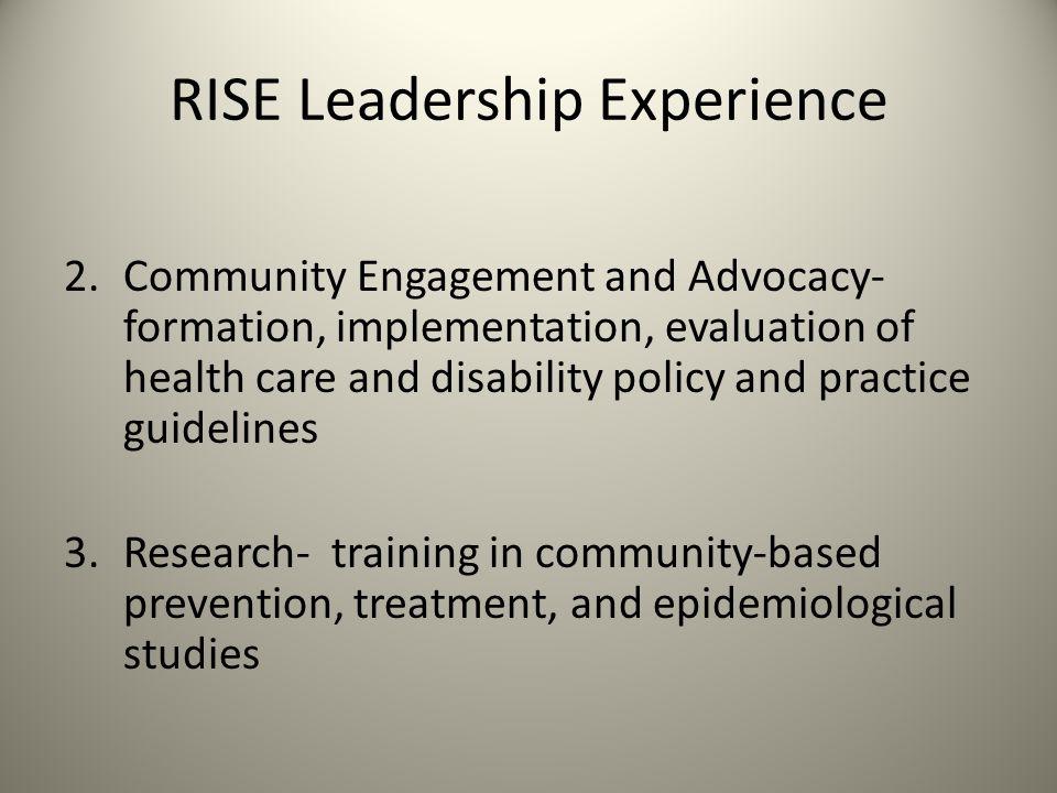RISE Leadership Experience