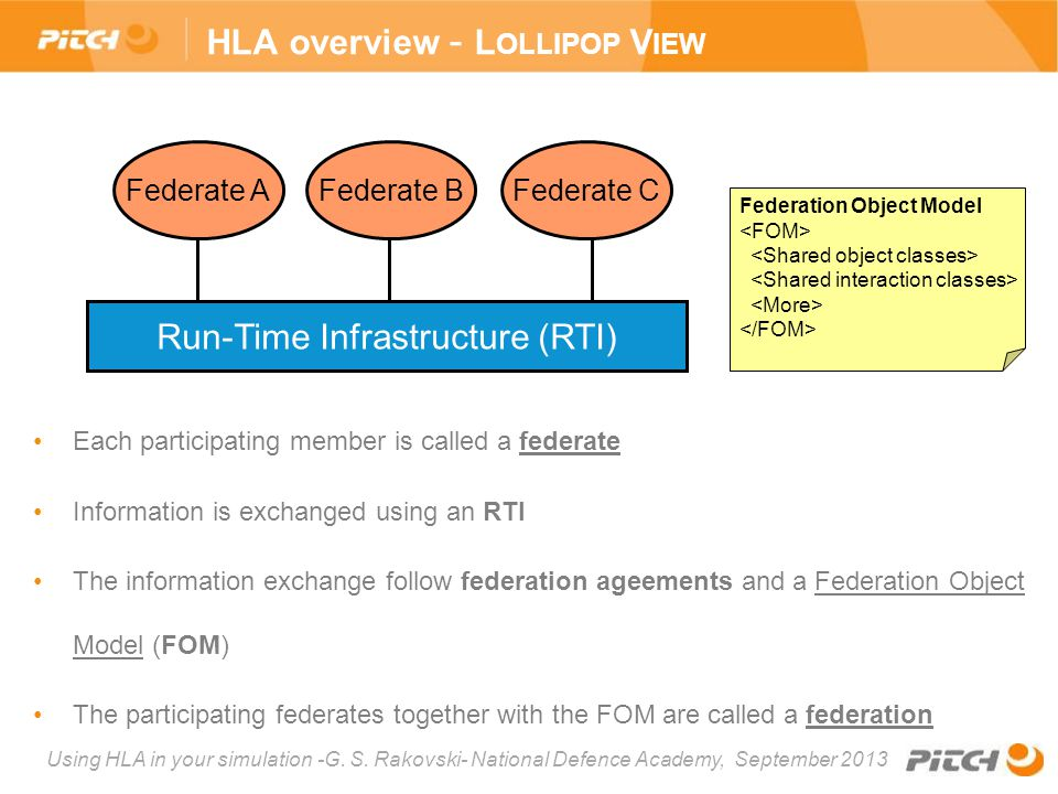 HLA overview - Lollipop View