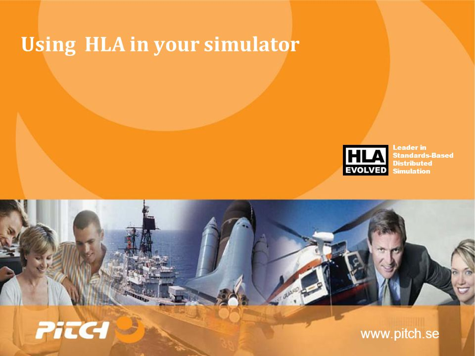 Using HLA in your simulator