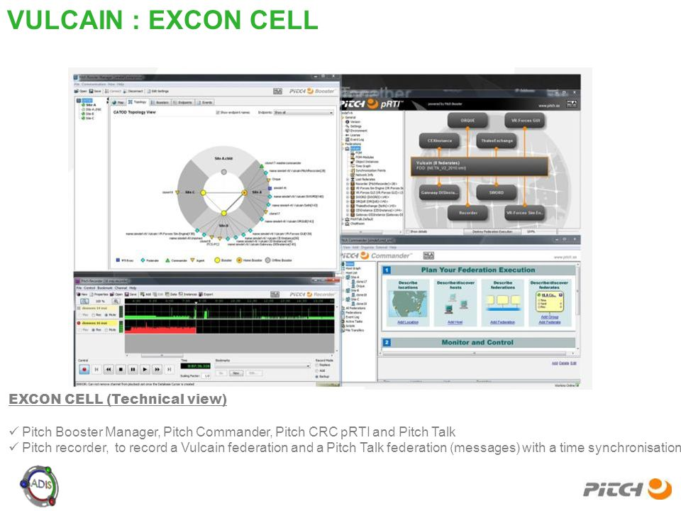 VULCAIN : EXCON CELL EXCON CELL (Technical view)