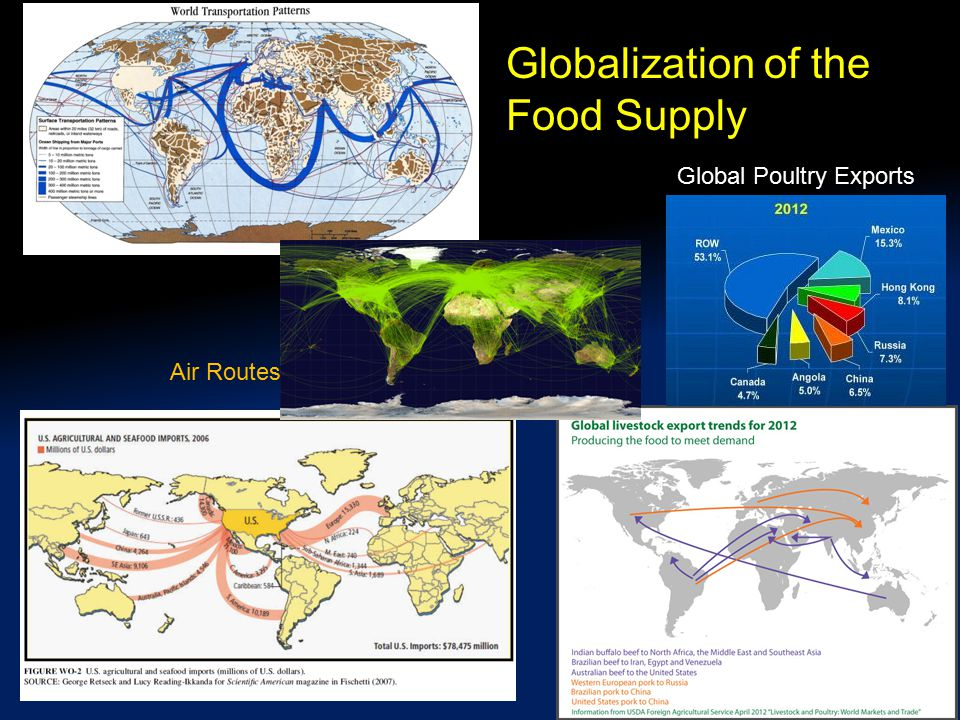 Globalization of the Food Supply