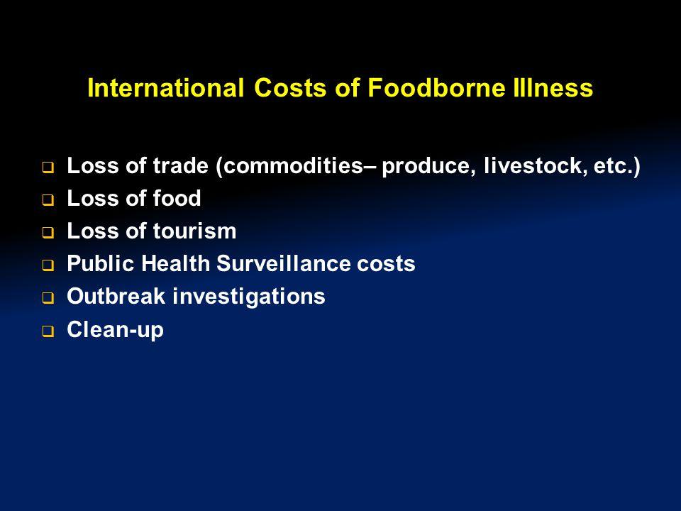 International Costs of Foodborne Illness
