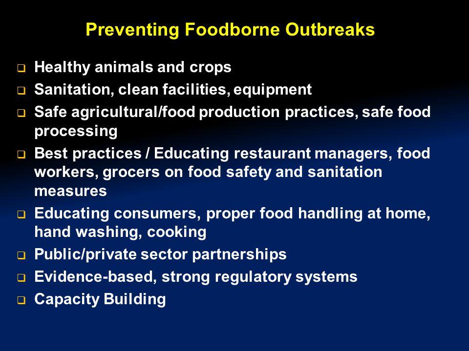 Preventing Foodborne Outbreaks