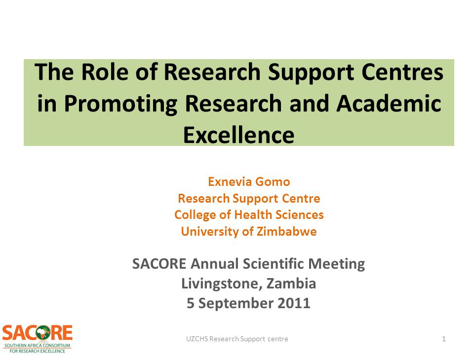 The Role of Research Support Centres in Promoting Research and Academic Excellence