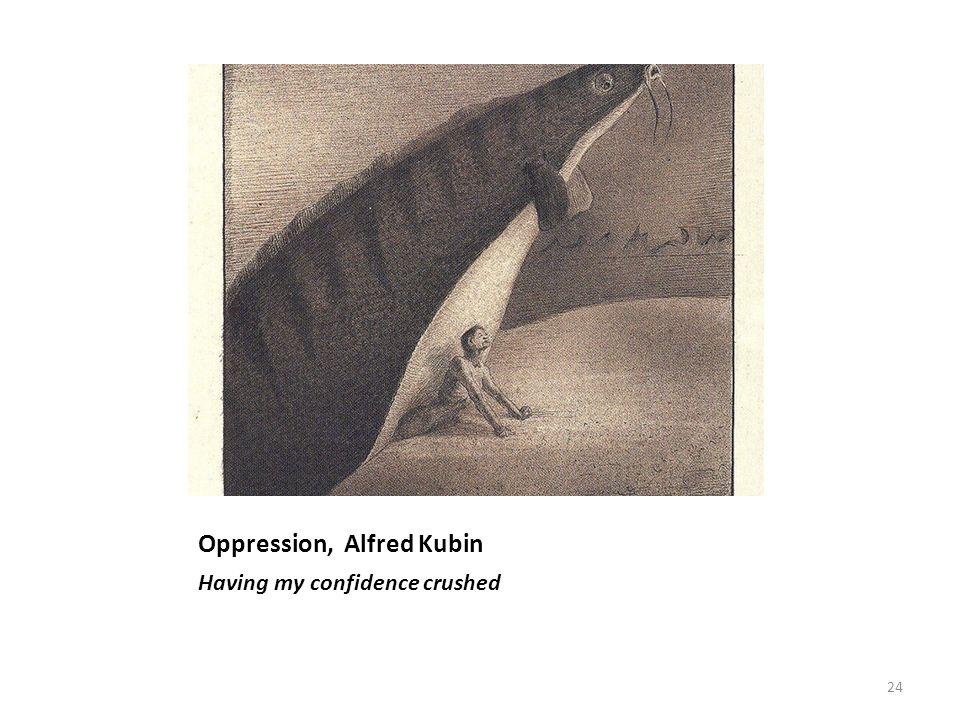 Oppression, Alfred Kubin