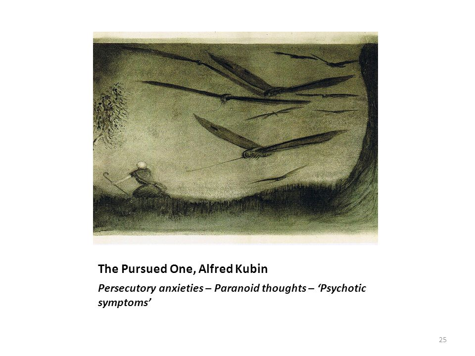 The Pursued One, Alfred Kubin