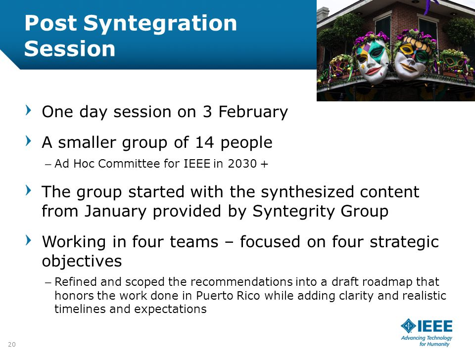 Post Syntegration Session