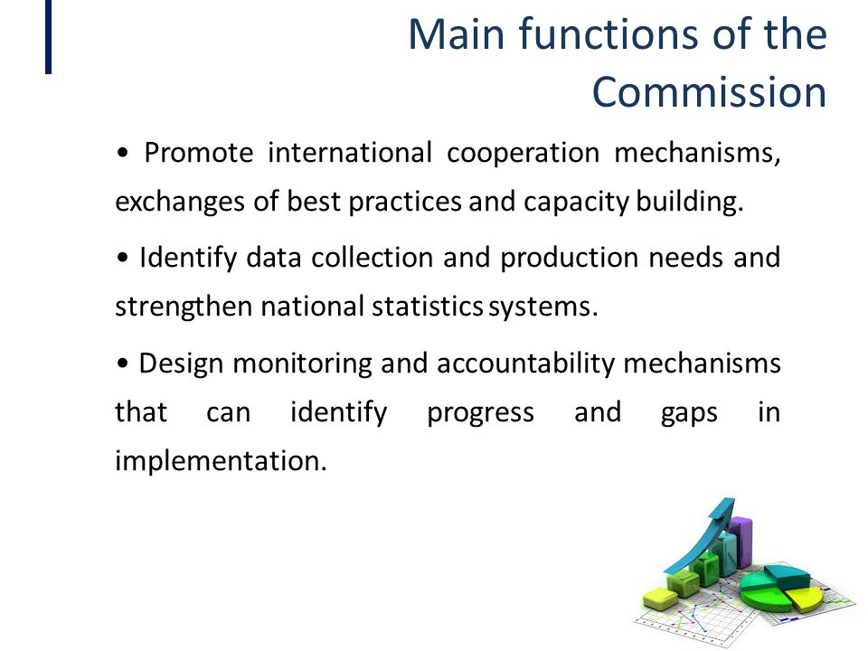 Main functions of the Commission