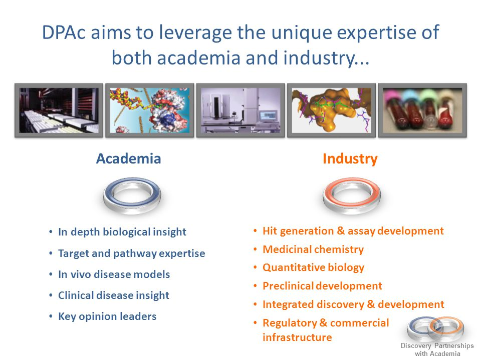 DPAc aims to leverage the unique expertise of both academia and industry...