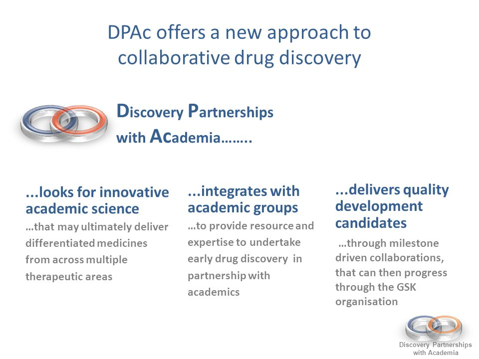 DPAc offers a new approach to collaborative drug discovery