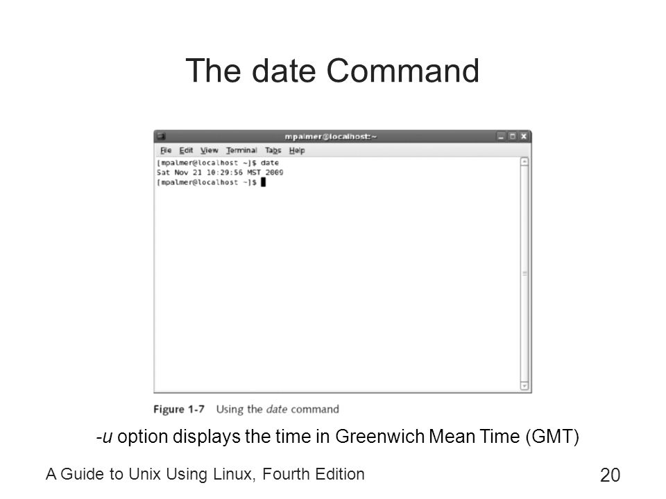 Linux date command in Australia