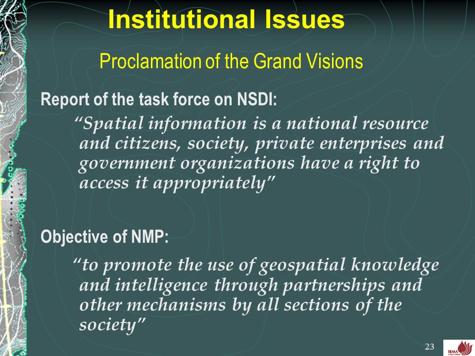 Proclamation of the Grand Visions