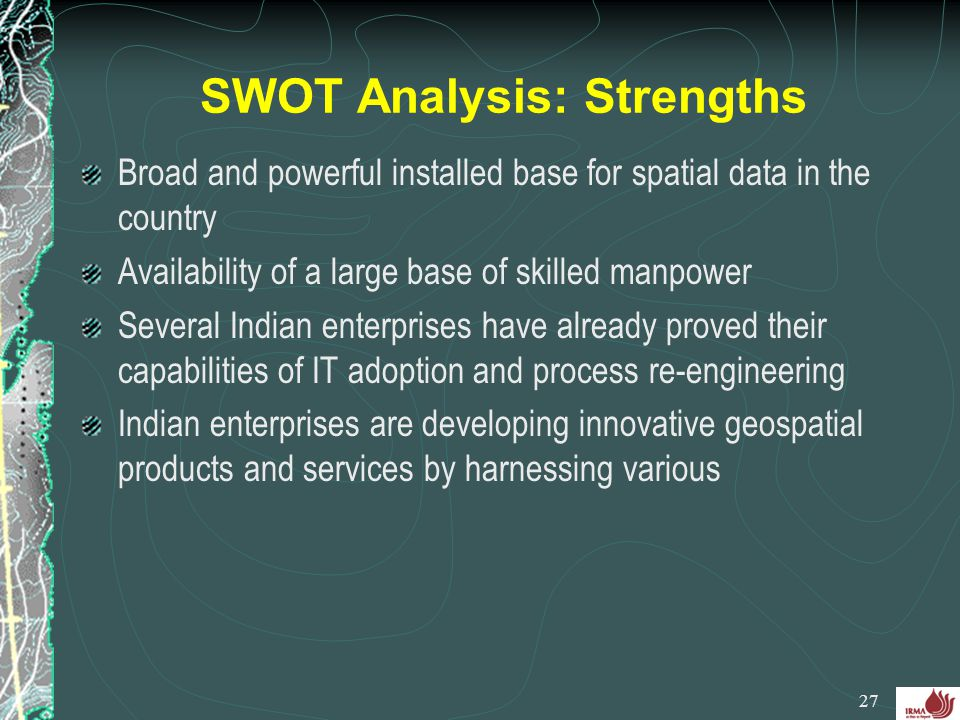 SWOT Analysis: Strengths