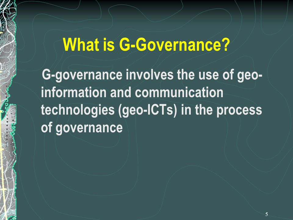 What is G-Governance.