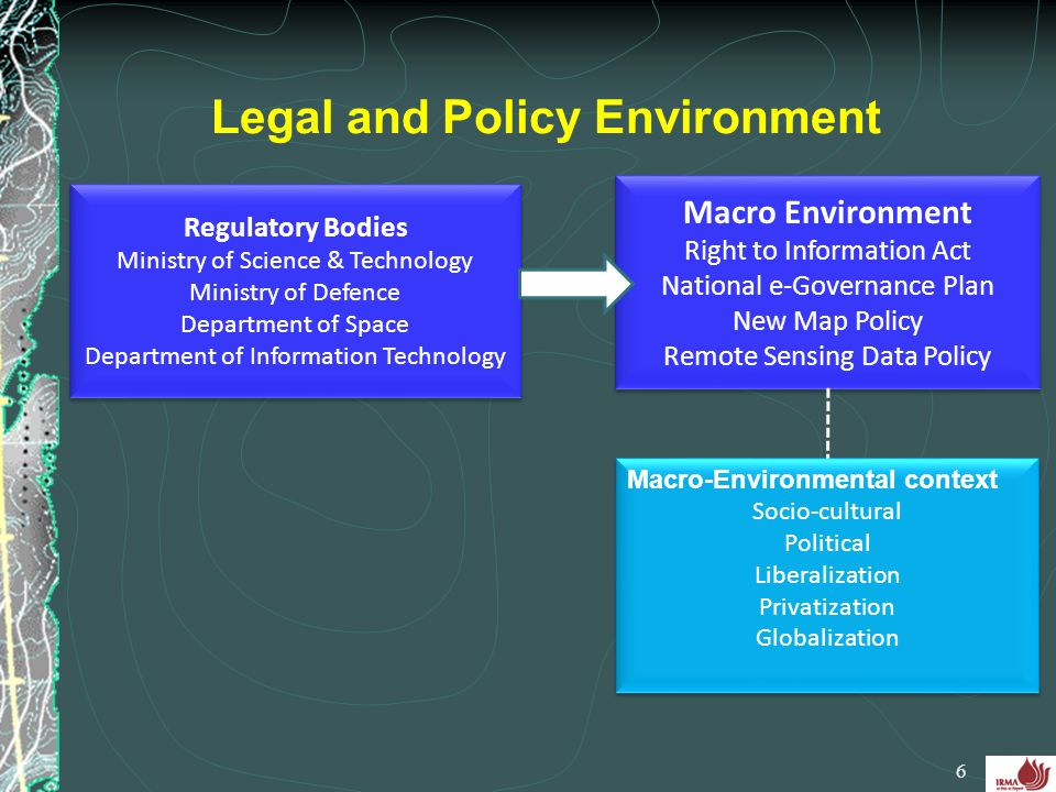 Legal and Policy Environment