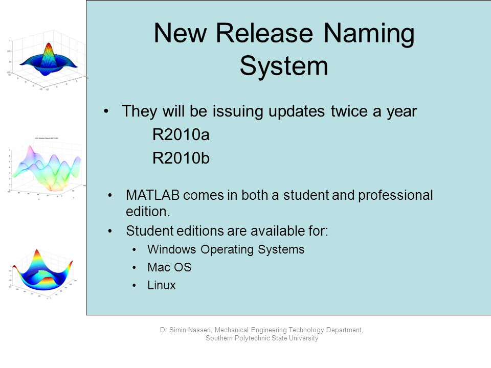 New Release Naming System