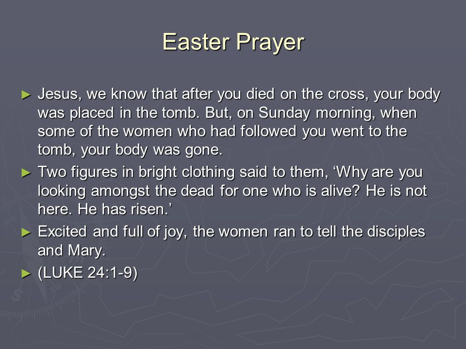 Easter Prayer