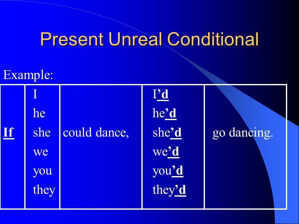 Present Unreal Conditional