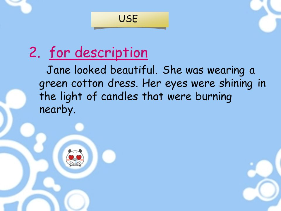 USE 2. for description.
