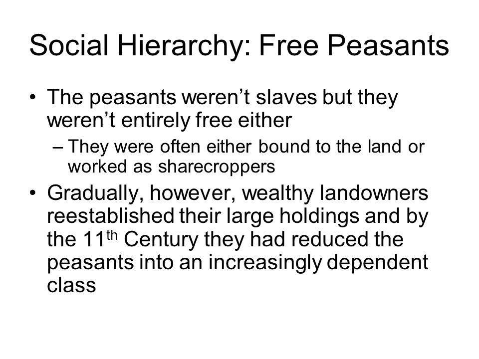 Social Hierarchy: Free Peasants